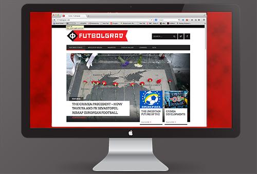Futbolgrad Website