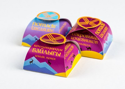 Kyrgyz Konfekt Packaging