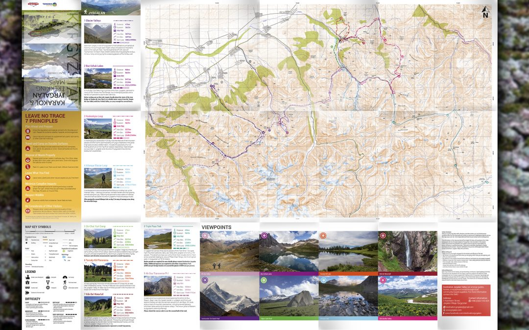 USAID BGI Trail Maps